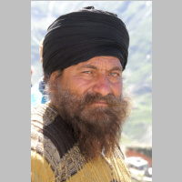 Spiti Inde portrait Rohtang