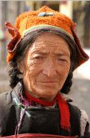 Spiti Inde portrait Kaza