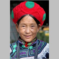 Yunnan old lady portrait